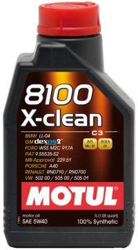 MOTUL 8100 X clean 5W40