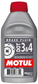 MOTUL DOT 3 4 Brake Fluid