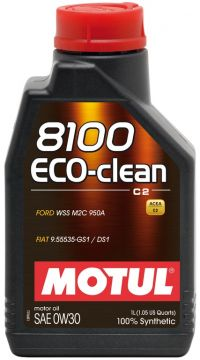 MOTUL 8100 Eco clean 0W30