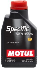 MOTUL Specific 505 01 502 00 505 00 5W40