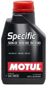 MOTUL Specific 506 01 506 00 503 00 0W30