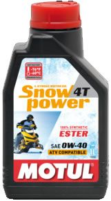 MOTUL SnowPower 4T 0W40